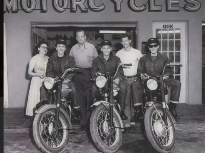Buddy Holly And The Crickets Motorbikes