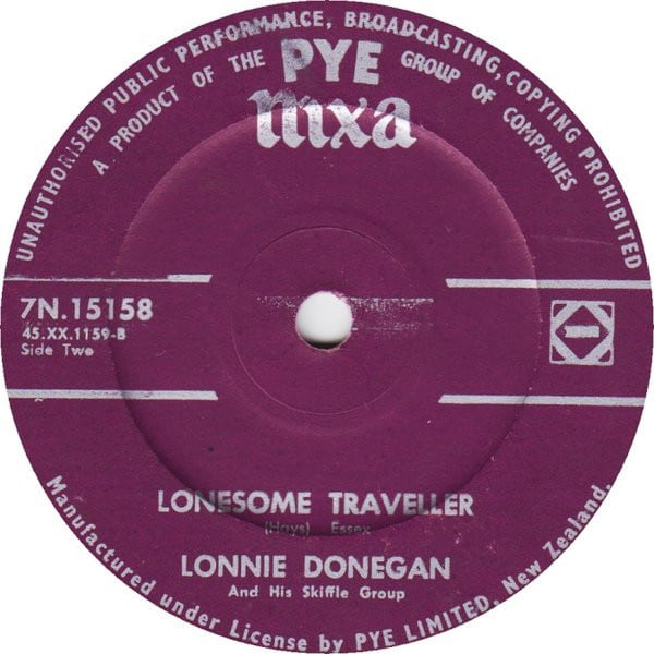 Lonnie Donegan – Lonesome Traveller