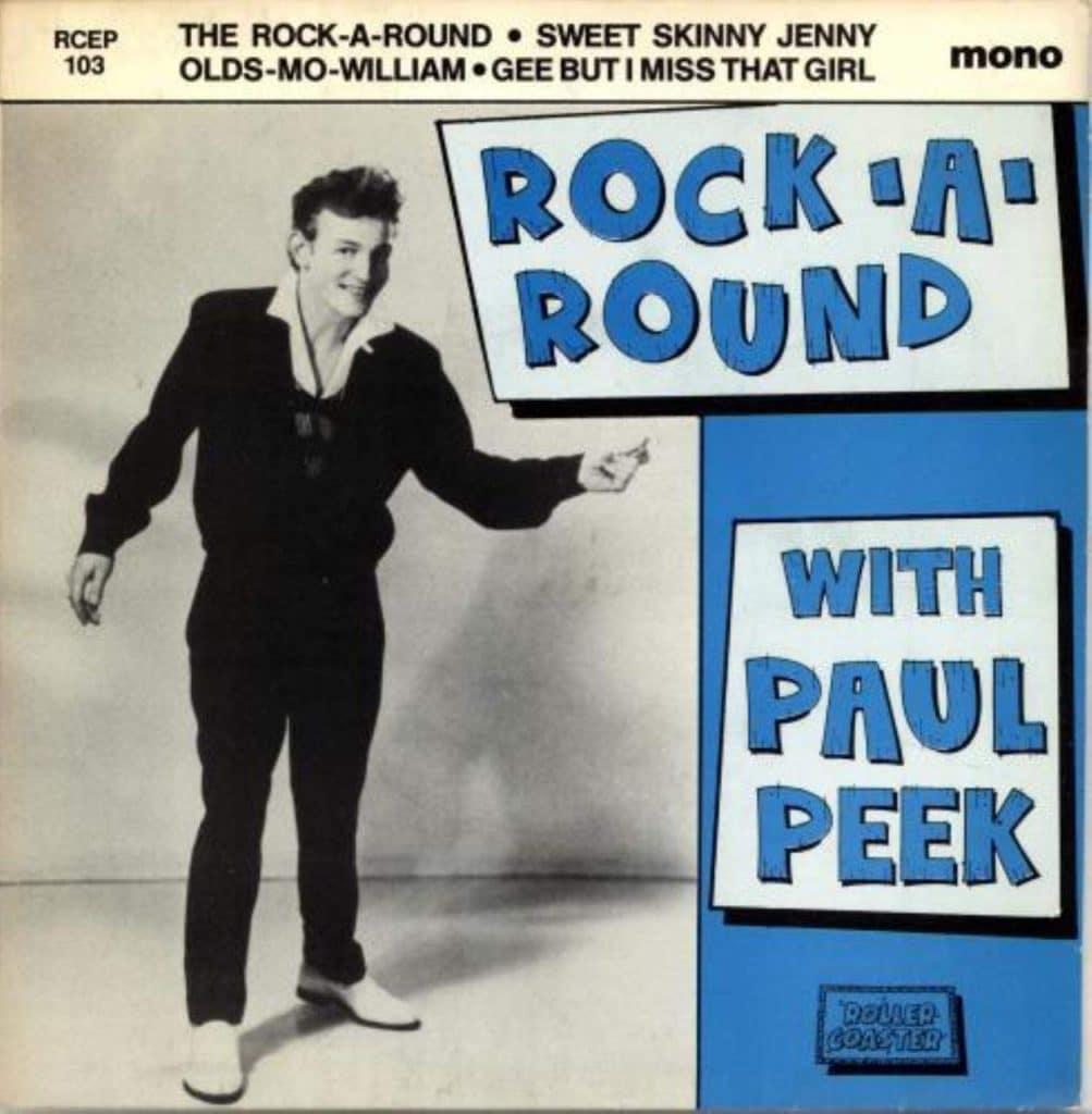 Paul Peek (Blue Cap Boy) - Retro Magazine | Rock And Roll | Rockabilly | Rhythm And Blues